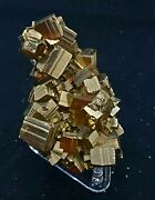 Very Nice Small Cluster Of Pyrite Crystalseagle Mine Gilman Colorado Classic