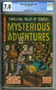 Mysterious Adventures 21 Cgc 7.0 Ow/wh Pages // Golden Age Pre Code Horror