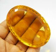 Natural Certified Oval Cut 860 Ct Yellow Color Topaz Loose Gemstone Rough