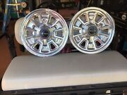 """1967 Pontiac Gto Hubcaps 14"""" Spinners The Gran Prix, 2+2, And Bonneville"""