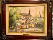 Marty Bell Original Painting Friendship Cottage 22andrdquox18andrdquo
