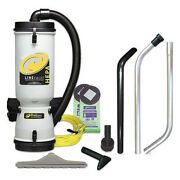 Proteam 100277 Linevacer Hepa 10 Qt. Backpack Vacuum W/ High Filtration Tool Kit