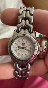 Tag Heuer Wg1312-ro Professional Womens Watch Water Tested And New Battery