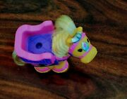 Fisher Price Little People Horse Pony Pink Farm Barn Castle Ride Touch Feel