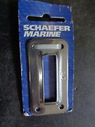 Schaefer 84-57 Chain Plate Cover For 84-91 And 84-81 304 Stainless Steel