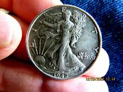 Better Date Au No Prblem 1942-s Walking Liberty Silver Half Dollar 1 Nice Coin