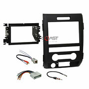 Metra Car Radio Stereo Double Din Dash Kit Wire Harness For 2009-12 Ford F-150