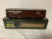 ✅weaver Milwaukee Road 57' Mechanical Reefer Car W/ Lionel Type Couplers O Scale