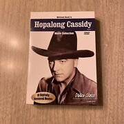 Hopalong Cassidy Movie Collection 4 Dvd - Box Set Black And White