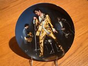 The Memphis Flash From Elvis Presley Looking At A Legend Plate 3 W/coa