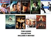 Tom Hanks 9 Film Dvd Collection The Money Pit/sully/the Green Mile/cloud Atlas