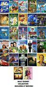 Walt Disney 27 Film Dvd Collection The Jungle Book/the Rescuers/wall-e/dinosaur