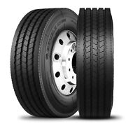 4 Tires Double Coin Rt500 255/70r22.5 H 16 Ply All Position Commercial