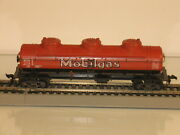 Ho Athearn 2387 Mobilgas 3 Dome Tank Car And Chicago Outer Belt 70127 Hopper Car