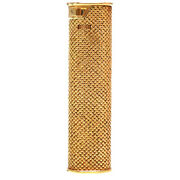 Authentic Dunhill K18 Yellow Gold Outer Jacket 750 Lighter 0097