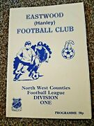 Eastwood Hanley V Skelmersdale United. 19th March 1996. North West Counties One