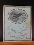 Coudersport And Port Allegany And The New York And Pennsylvania By Paul Pietrak Sc
