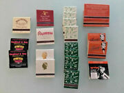 20 Vegas Matchbooks Matches-aladdin, Mabels Whore House, Siegfield And Roy, Ballys