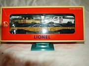 1996 Lionel 6-19423 Lionel Racing Flatcar With Stock Cars Mib