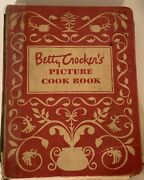 Betty Crocker's Picture Cook Book 1st Ed, 9th Print, 1950 5 Ring Binder