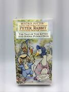 Beatrix Potter The Tale Of Tom Kitten And Jemina Puddle-duck Vhs Collectors