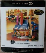 New Dept 56 North Pole Series Porcelain Building Works 56788 Special Edition