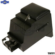 Tuffy Deluxe Center Console For 1975-1996 Chevy/ford/land Rover Black