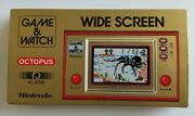 Nintendo Game And Watch Octopus Oc-22 1981 Very Rare | New | Handheld Game