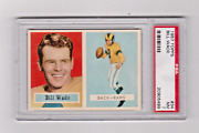 1957 Topps Football Bill Wade 34 Psa 7 Nicely Centered Free Shipping