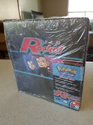 Sealed Pokemon Team Rocket 3-ring Binder Card Collector Wizards Of The Coast Set