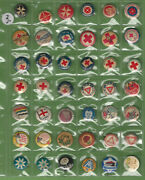Ff.  3.  Lot Of Forty Two 42 Tin Badges - Mostly Red Cross