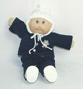 Vintage Cabbage Patch Doll 1978-1982 No Hair Blue Eyes