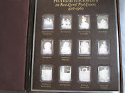 Norman Rockwell's 12 Covers Silver Ingot Collection B4472
