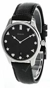 G-timeless Black Mother Of Pearl Dial Womenand039s Watch Ya1264086