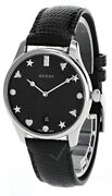 G-timeless Black Mother Of Pearl Dial Women's Watch Ya1264086