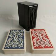 Vintage 1952 Kem Playing Cards 2 Decks With Case, Complete