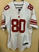 Nike Ny Giants Victor Cruz 80 Stitched White Away Nfl Jersey Flywire Men's 52