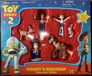 Vintage Disneyand039s Toy Story 2 Woodyandrsquos Roundup Character Giftset Rare Htf