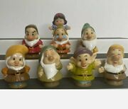 Fisher Price Little People Disney Snow White And 7 Seven Dwarfs Complete Set