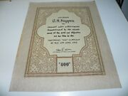 Vintage Award For O.a. Koppen For Sale Achievement May June 1936 Chevy 400 Camp