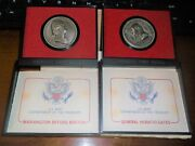 General Horatio Gates And Washington Before Boston Us Mint Americas First Medals