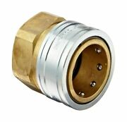 Dixon Stfc10 Brass Hydraulic Quick-connect Fitting, 1-1/4 Female Coupling X ...