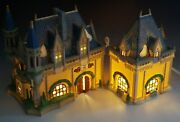 Department 56 Mickeys Christmas Carol Disney Parks Village Lighted With Box
