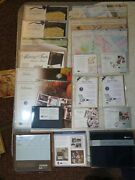 Creative Memories Mixed Scrapbooking Lot Stickers Album Template Done With One