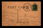 1907 Beatrice And Ord Rpo Card / Very Crisp Cancel - L21571