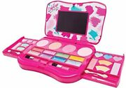 My First Makeup Set Girls Makeup Kit Fold Out Makeup Palette With Mirror And