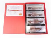 N Scale Micro-trains Mtl 99300010 Up Union Pacific 50' Flat Car Runner Pack 10