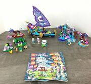 Lego Elves Sets 41072 41073 41076 Manuals 4 Minifigs Retired Incomplete