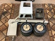 Mighty Tonka..bell System Truck...parts Lot.......look