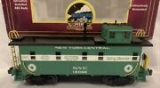 ✅mth Premier New York Central Steel Caboose 20-90017 For Nyc Diesel Steam Engine